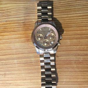 Michael Kors Runway Chronograph Rose Gold Watch